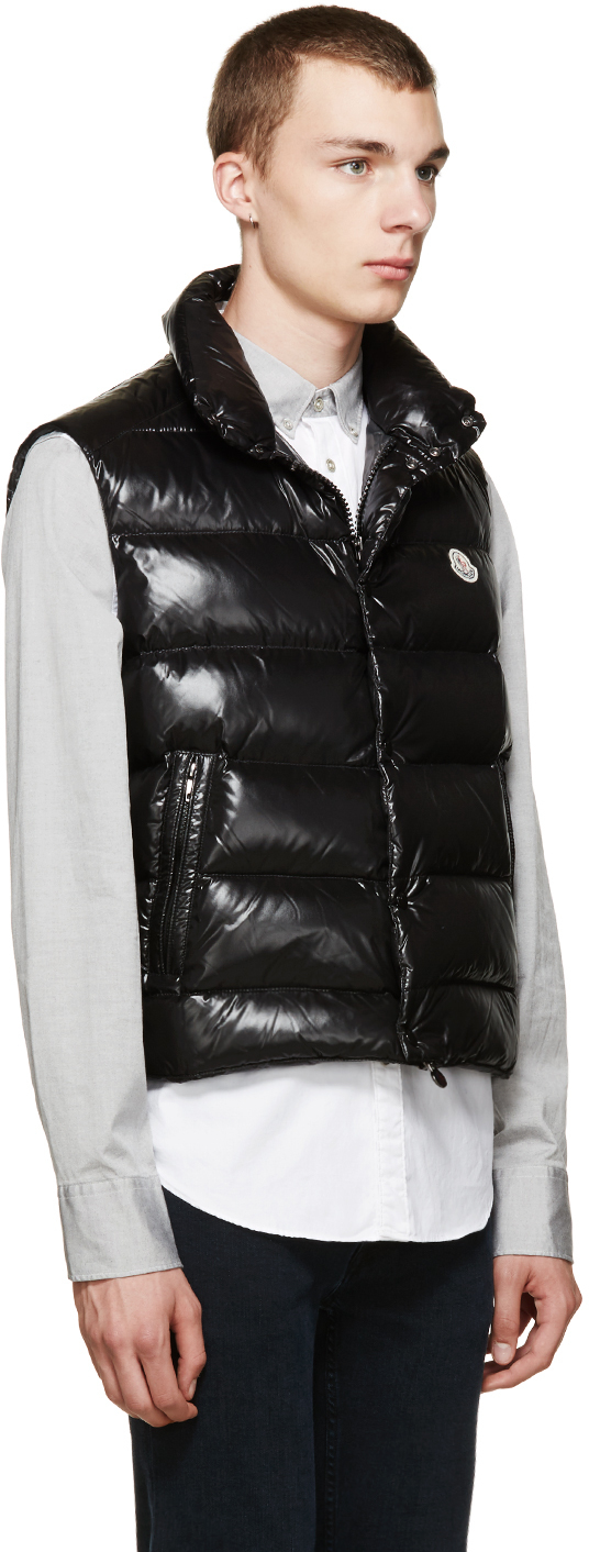 moncler tib quilted down vest