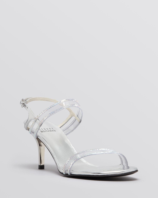 Stuart Weitzman Open Toe Evening Sandals