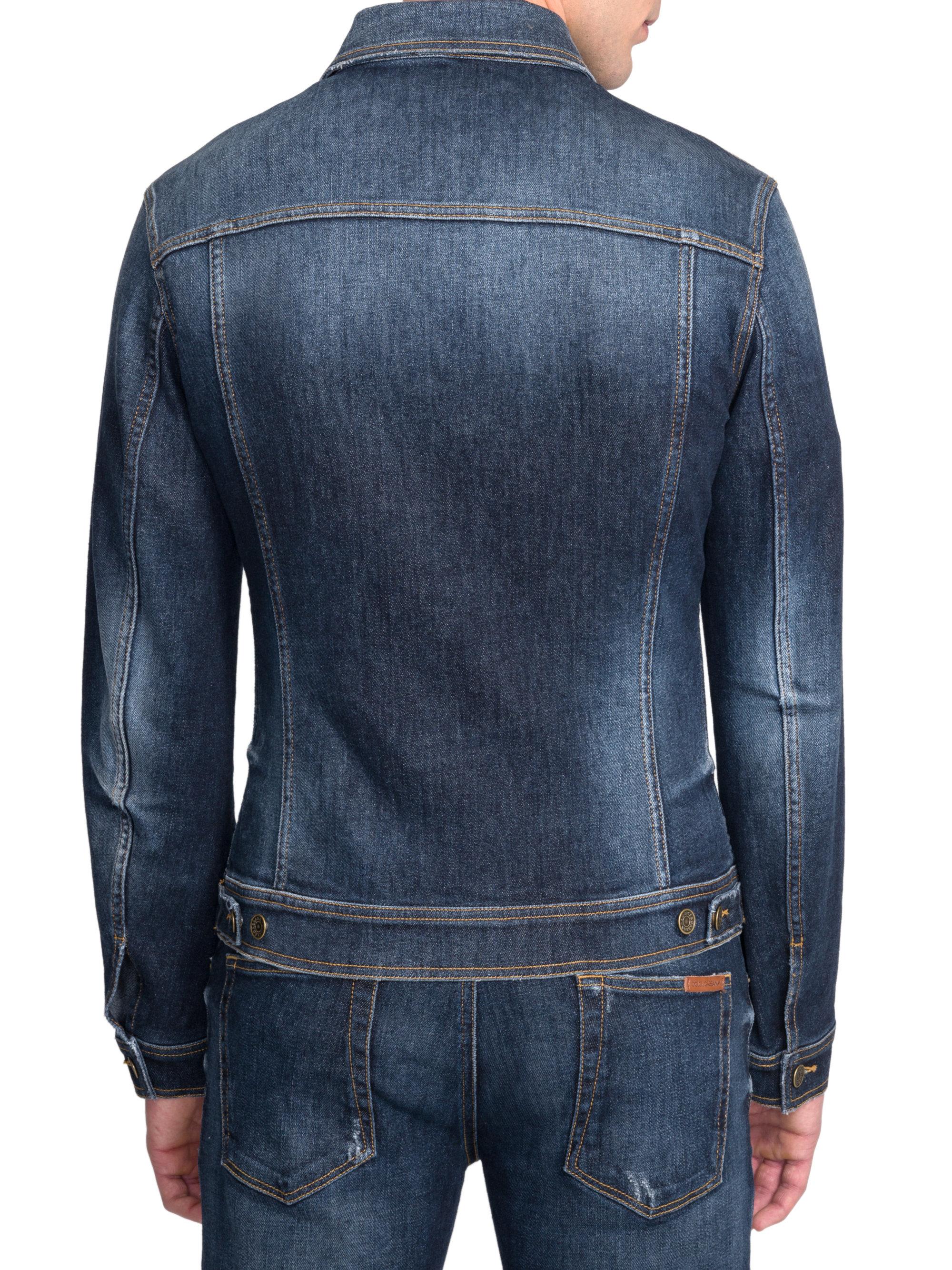 912e63aa87 Dolce Gabbana Denim Jacket