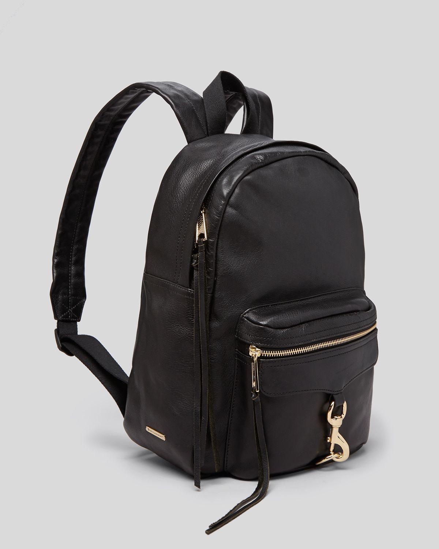 4ca007f776 Lyst - Rebecca Minkoff Backpack - Mab With Gold-Tone Hardware in Black