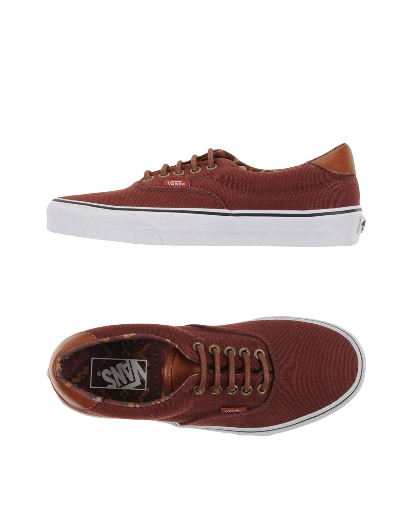 vans low tops sneakers in brown for men lyst. Black Bedroom Furniture Sets. Home Design Ideas