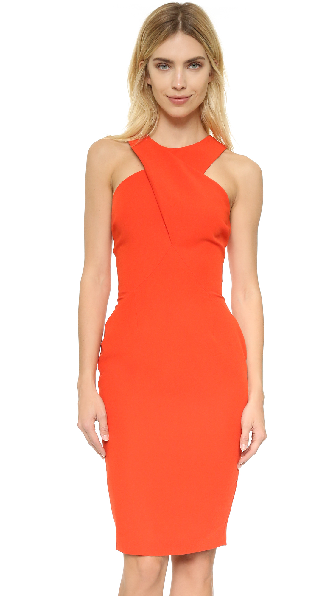 5550a34fd7e8 Finders Keepers Hurricane Dress in Orange - Lyst