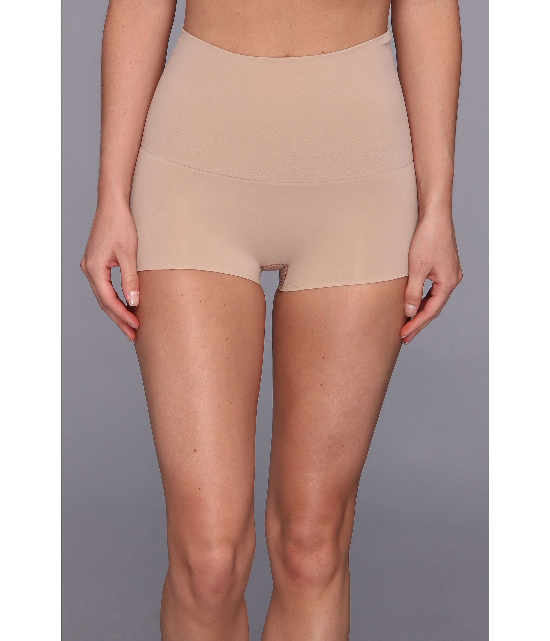 Spanx Haute Contour® Shorty in Pink | Lyst
