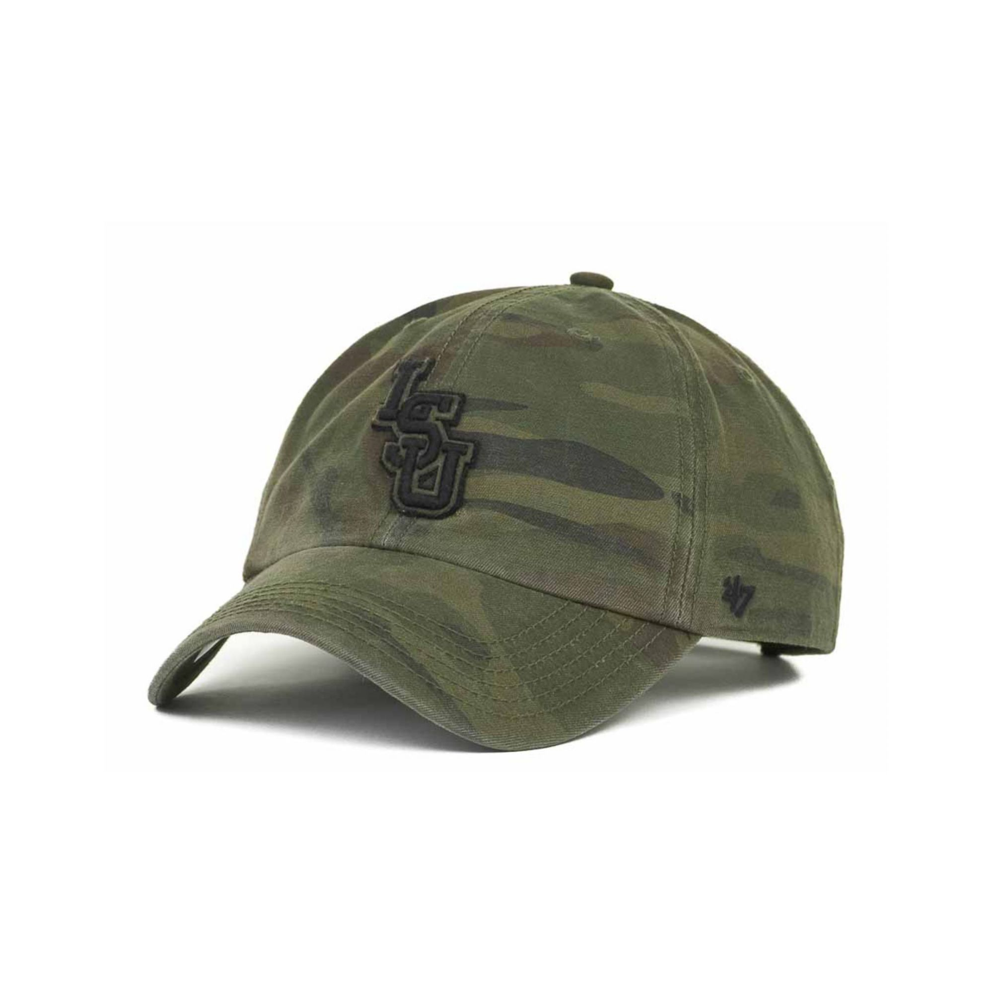 detailed look 1822e 3e3ba ... order lyst 47 brand lsu tigers ncaa oht movement clean up cap in green  55c9c d402f
