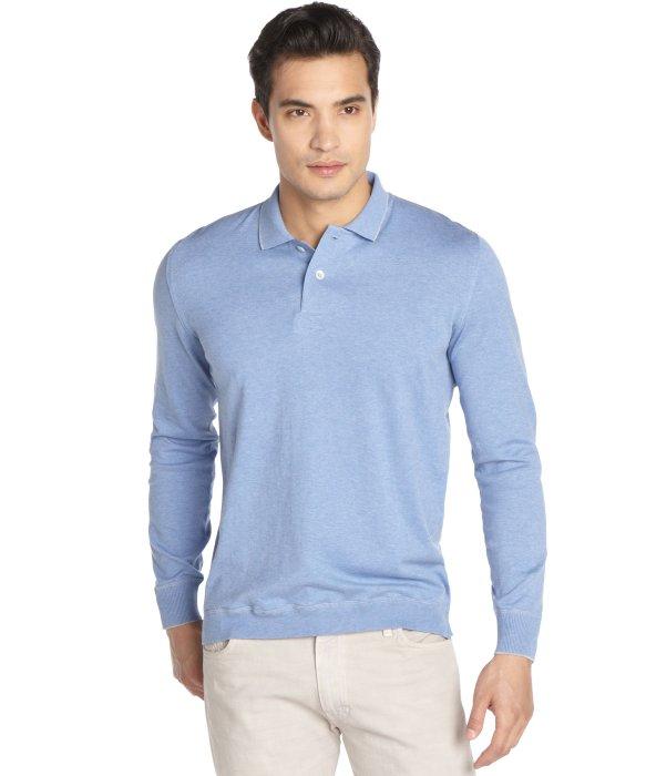Lyst Brunello Cucinelli Light Blue Cotton Long Sleeve