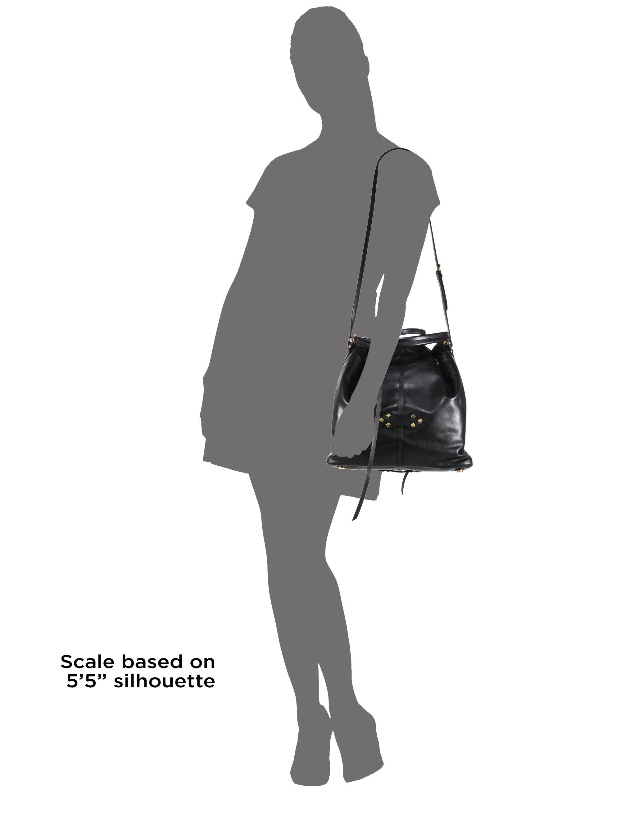 Miu Miu Suede Bucket Bag
