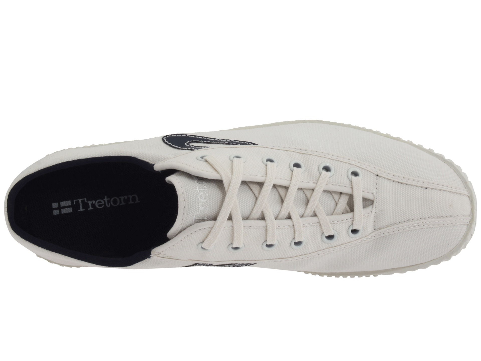 tretorn nylite canvas in white for lyst