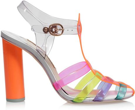 Sophia Webster Rosa Jelly Sandals in Pink