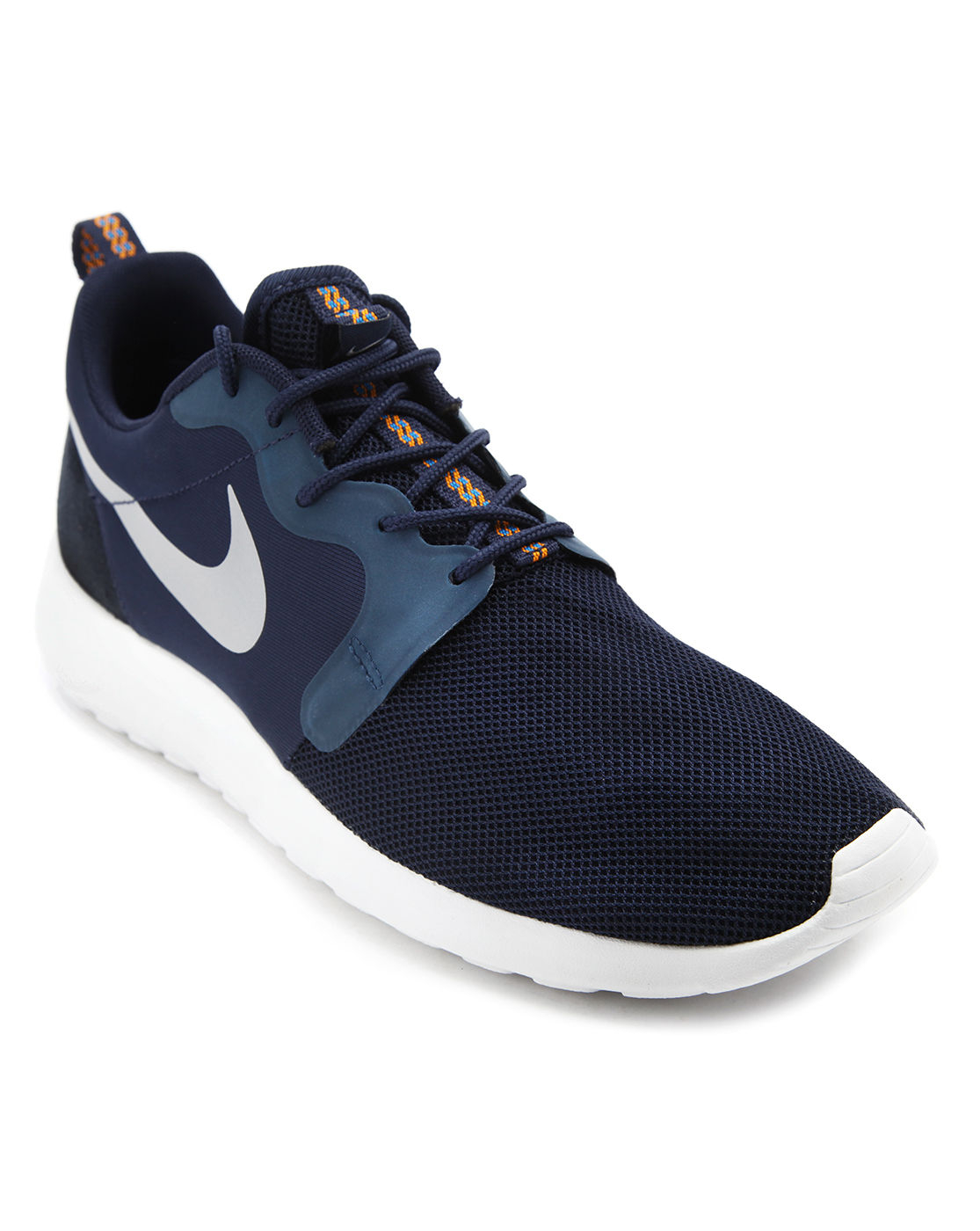 nike roshe run hyp navy sneakers in blue for men navy lyst. Black Bedroom Furniture Sets. Home Design Ideas