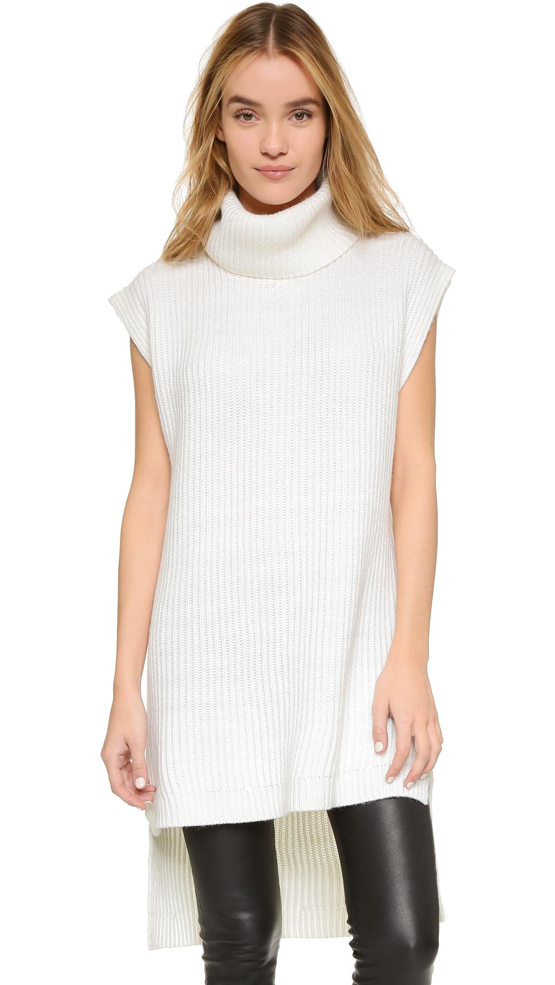 Winter White Tunic Sweaters 71