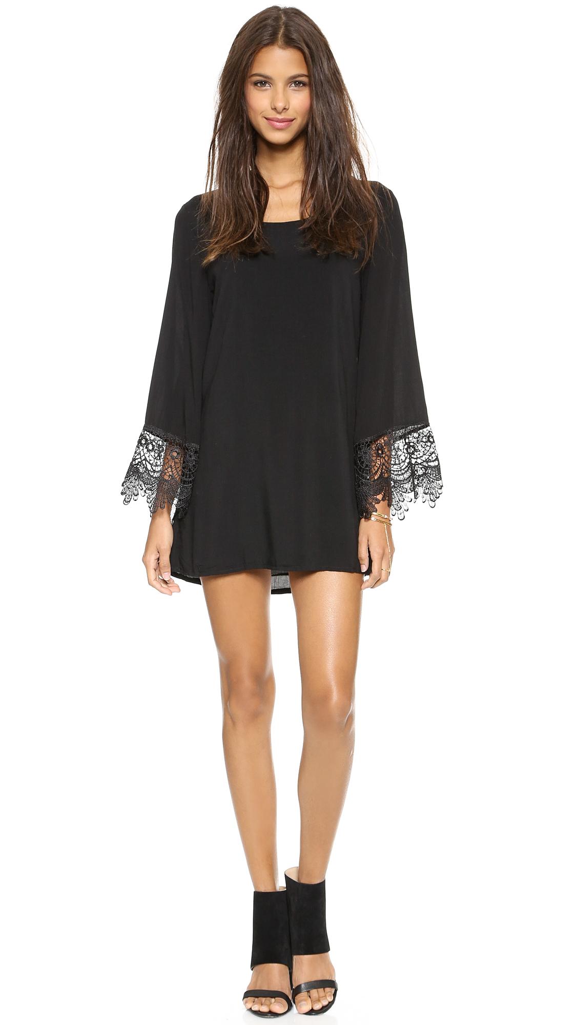 Black Hippy Dress