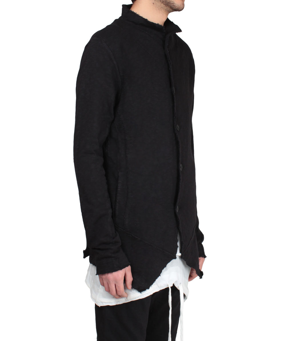 8c8e205ac Thom Krom Cotton Over-Sized Jacket in Black for Men - Lyst