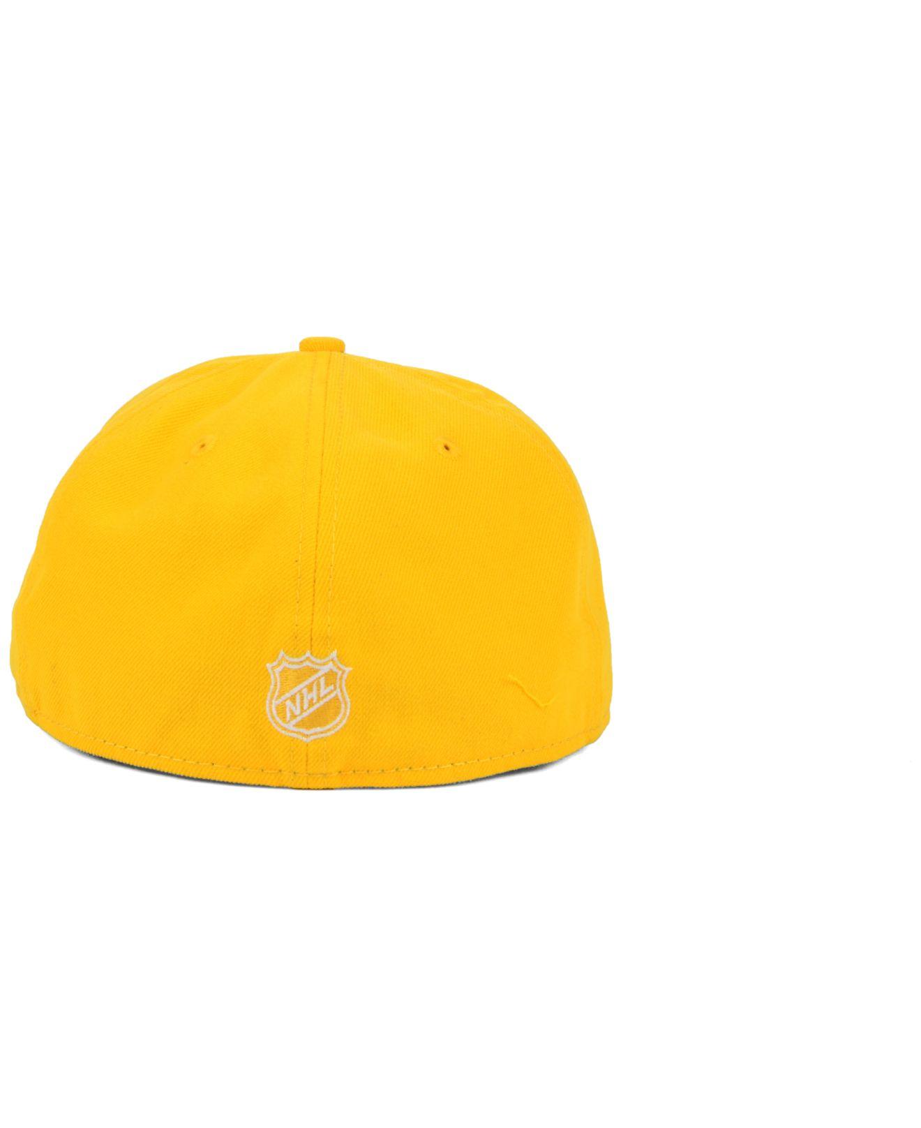 Lyst - Ktz San Jose Sharks C-dub 59fifty Cap in Yellow for Men 1a5355a12e27