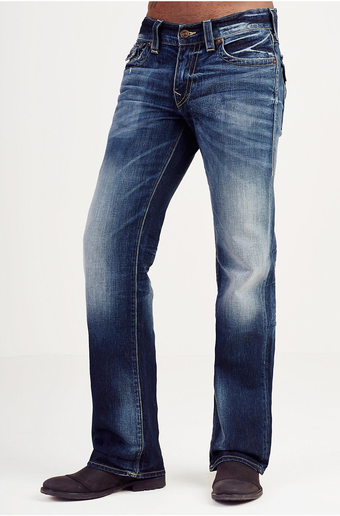 True religion Billy Bootcut Mens Jean in Blue for Men | Lyst