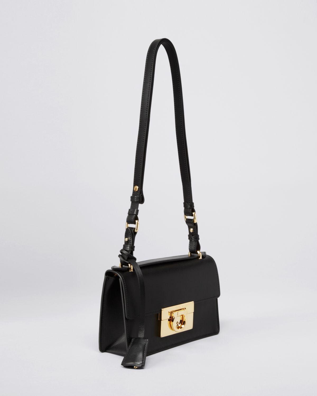 Lyst - Ferragamo Shoulder Bag Aileen Mini in Purple 85e55f62bd9b2