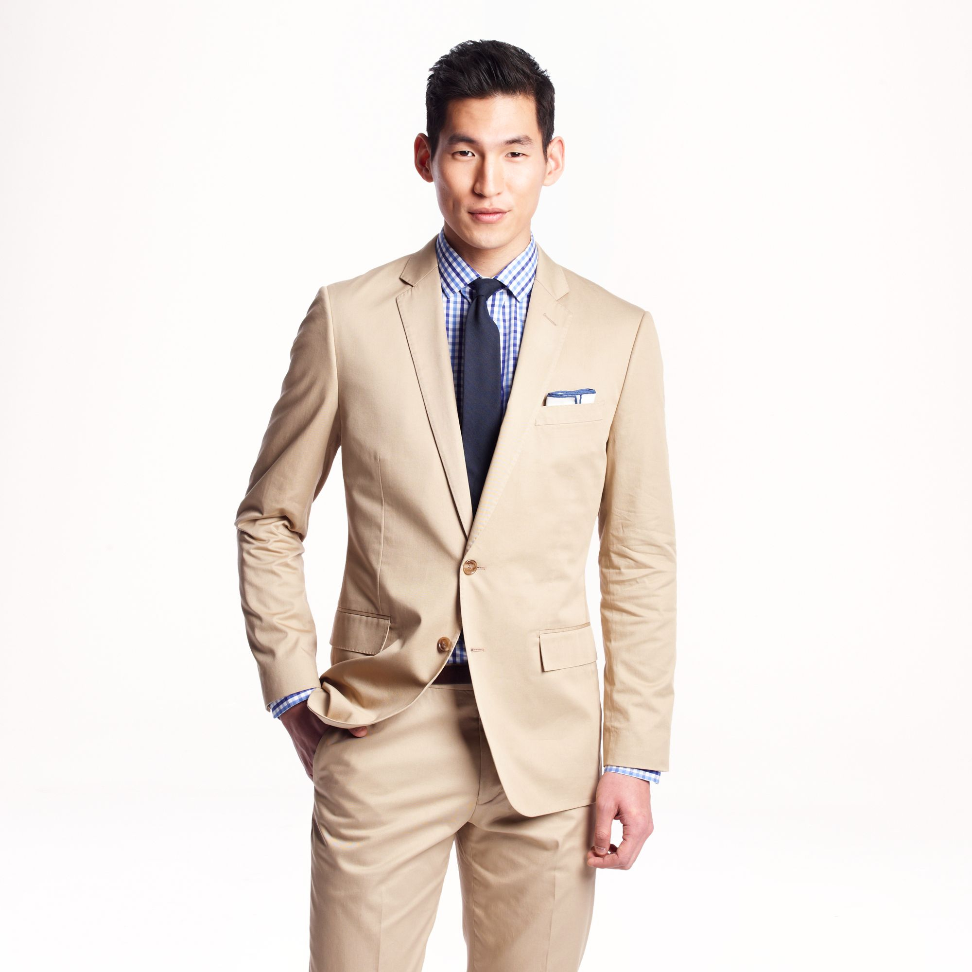 ludlow men Well-suited: 14 best men's suits for summer  j crew italian chino ludlow suit  hiconsumption's daily newsletter.