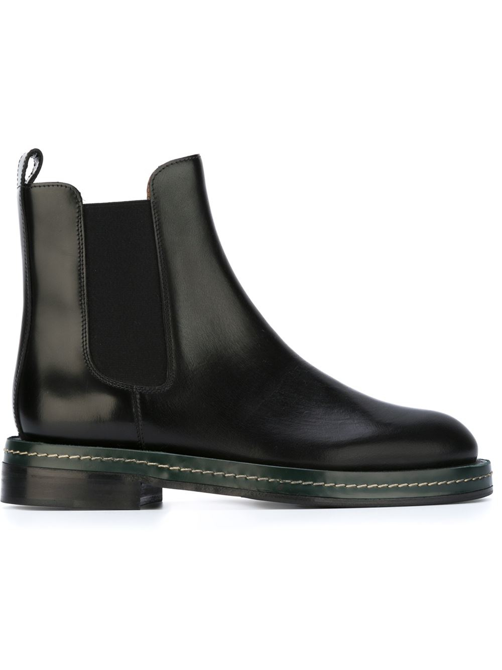 Marni Ankle Boots In Black Lyst