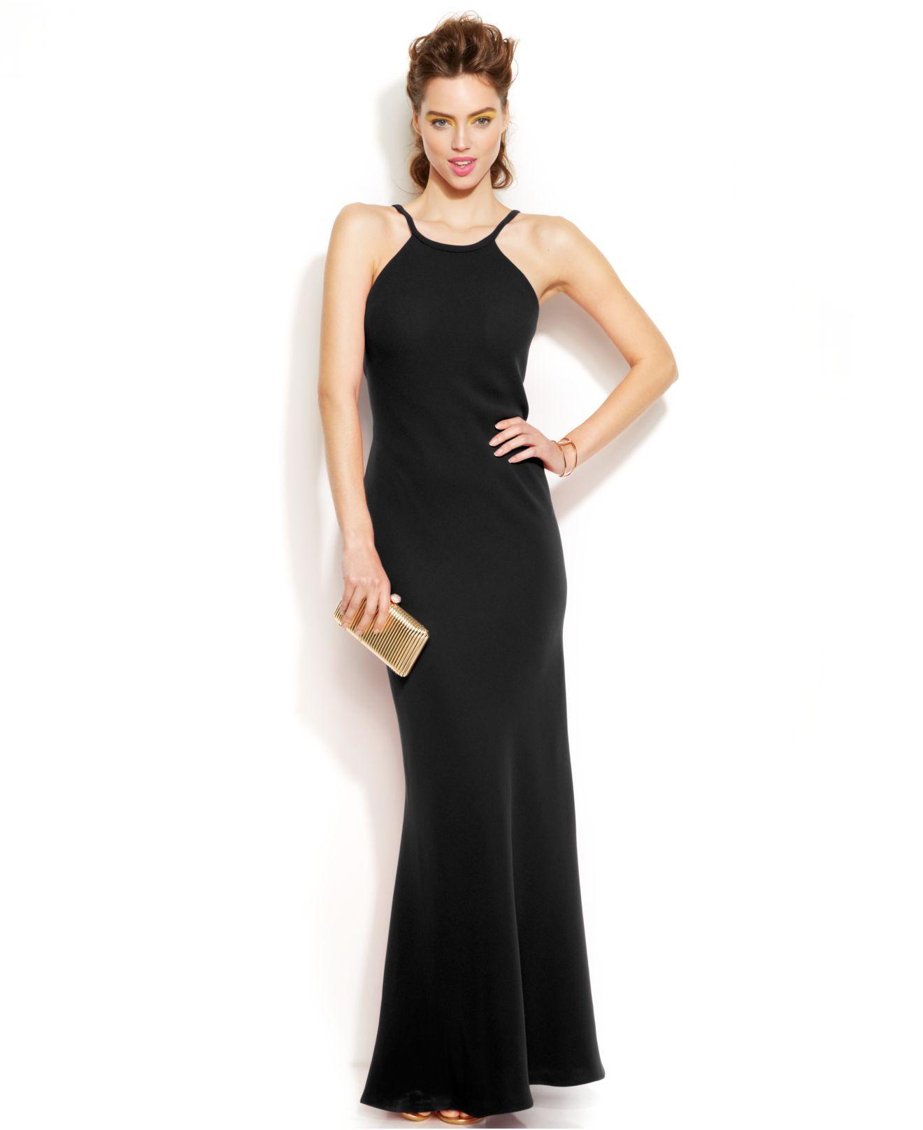 Calvin Klein Black Dresses