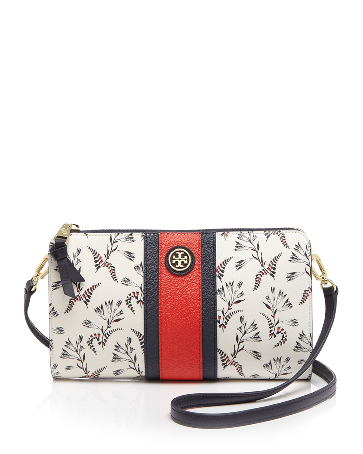 Tory Burch Crossbody Kerrington Cape Floral Lyst