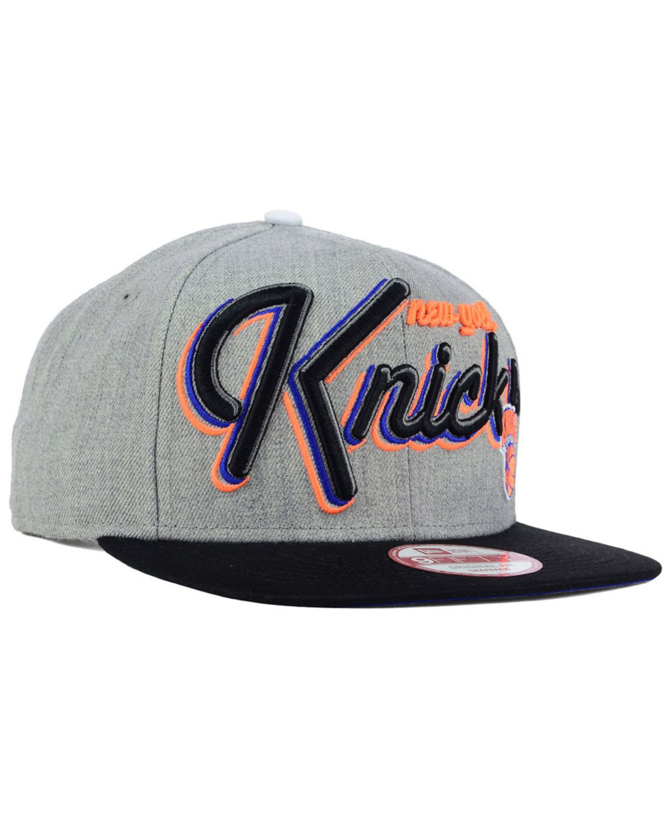 best value 38e4e 24ff2 Lyst - KTZ New York Knicks Hwc The Heather Bright Nights 9fifty ...