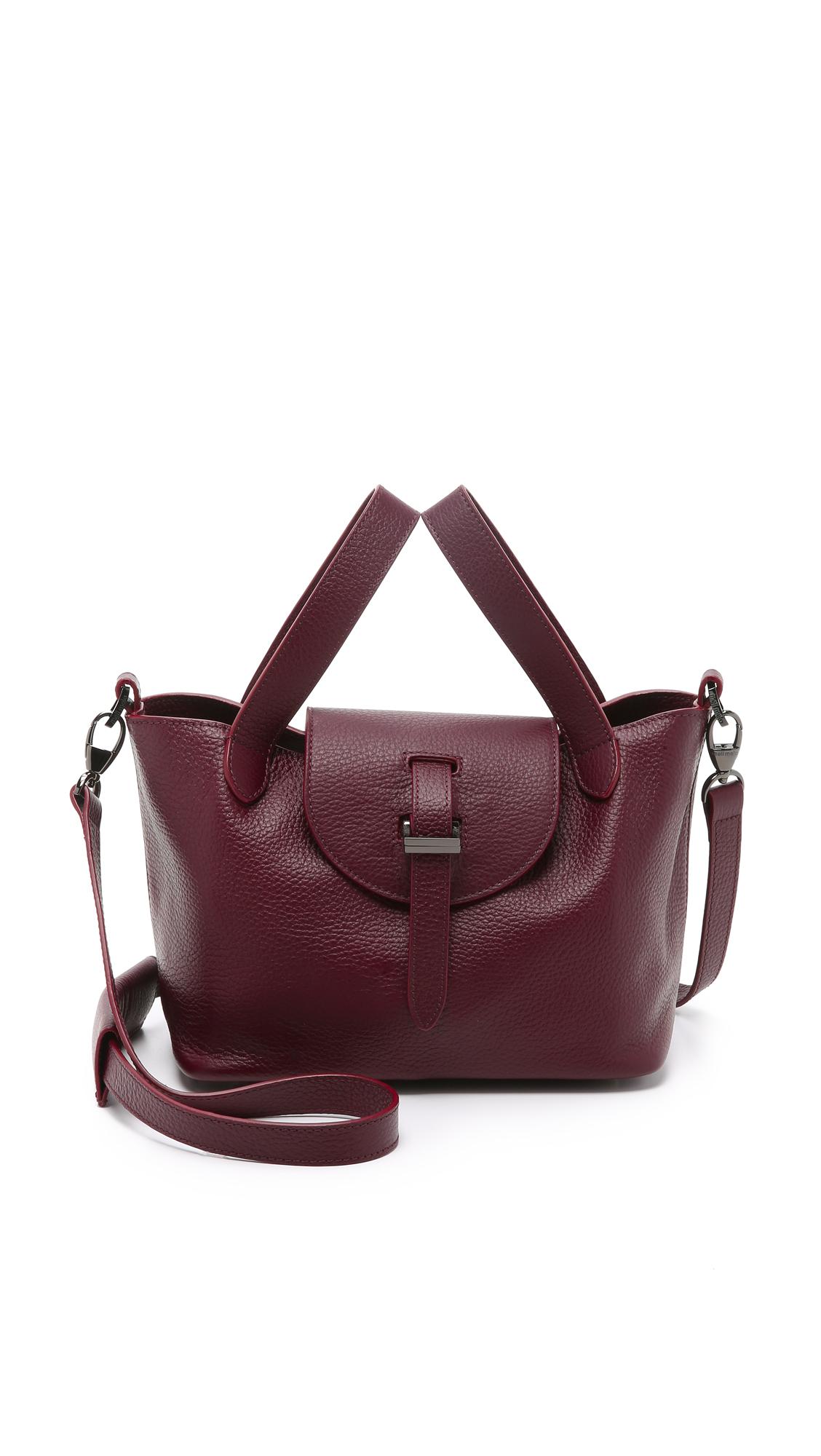 Lyst - meli melo Thela Mini Bag - Burgundy in Purple b395ea197c803