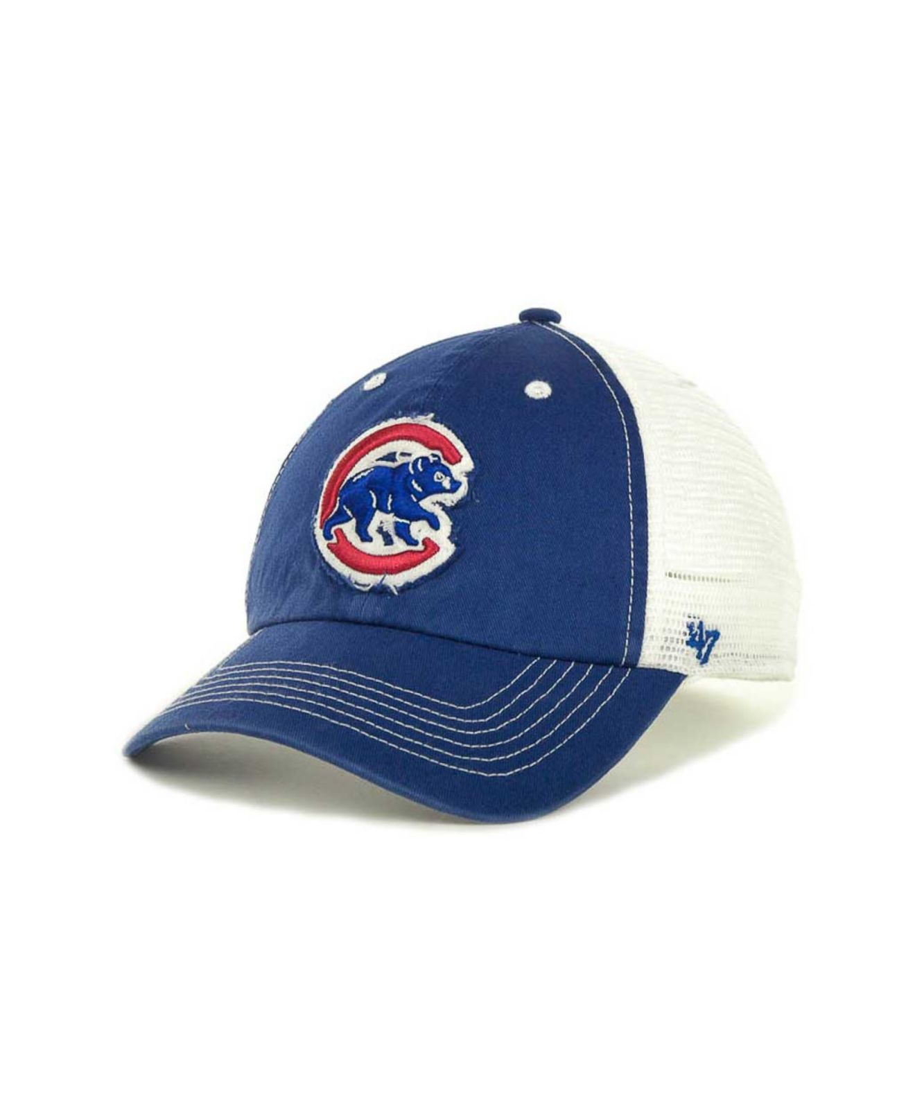 quality design 63ea1 6df88 ... ireland lyst 47 brand chicago cubs blue mountain franchise cap in blue  for men 9552b faf16