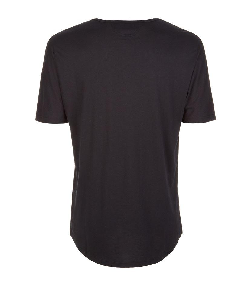helmut lang jersey t shirt in black lyst. Black Bedroom Furniture Sets. Home Design Ideas