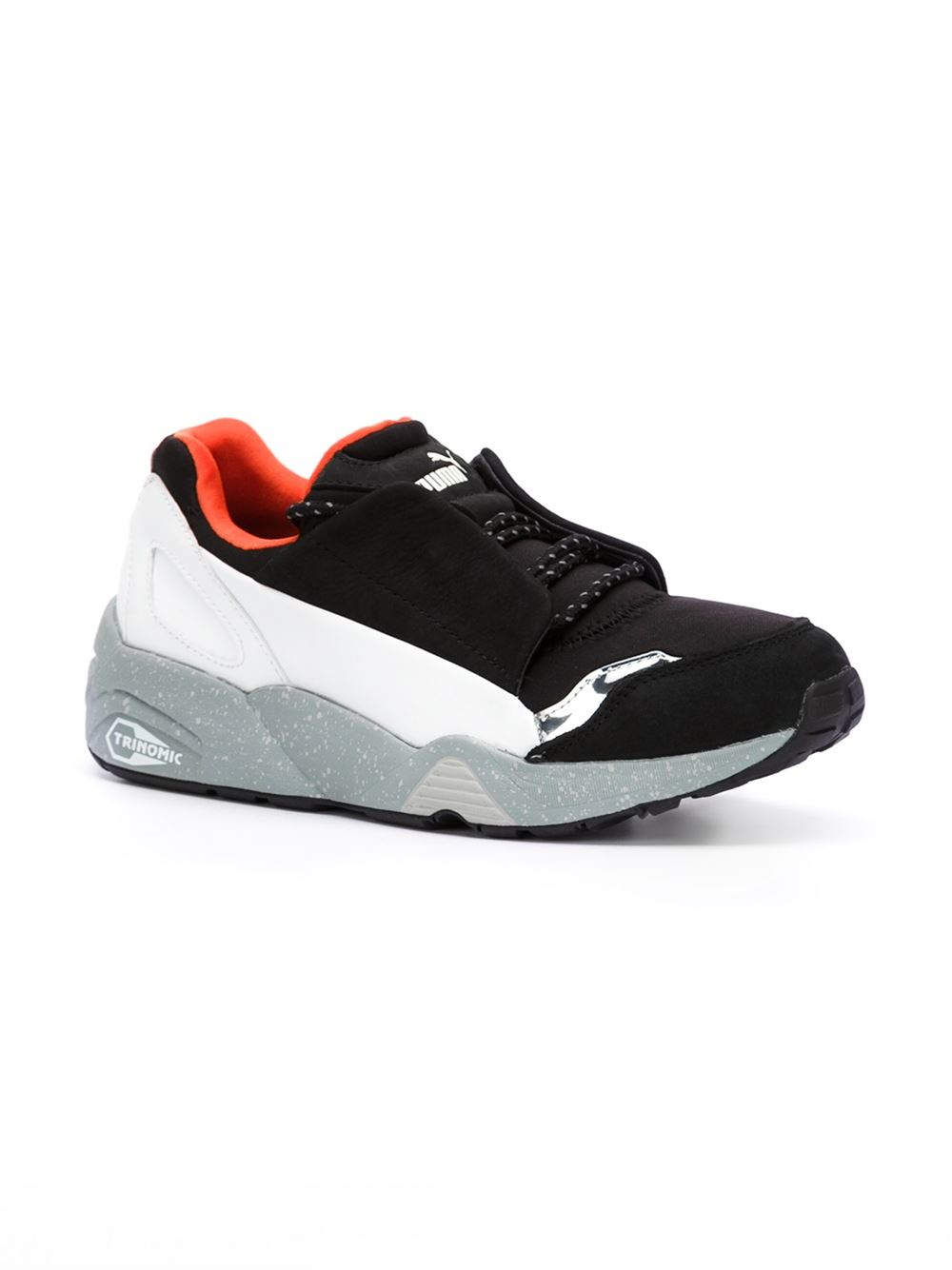 Alexander Mcqueen X Puma Disc Leather Low Top Sneakers In