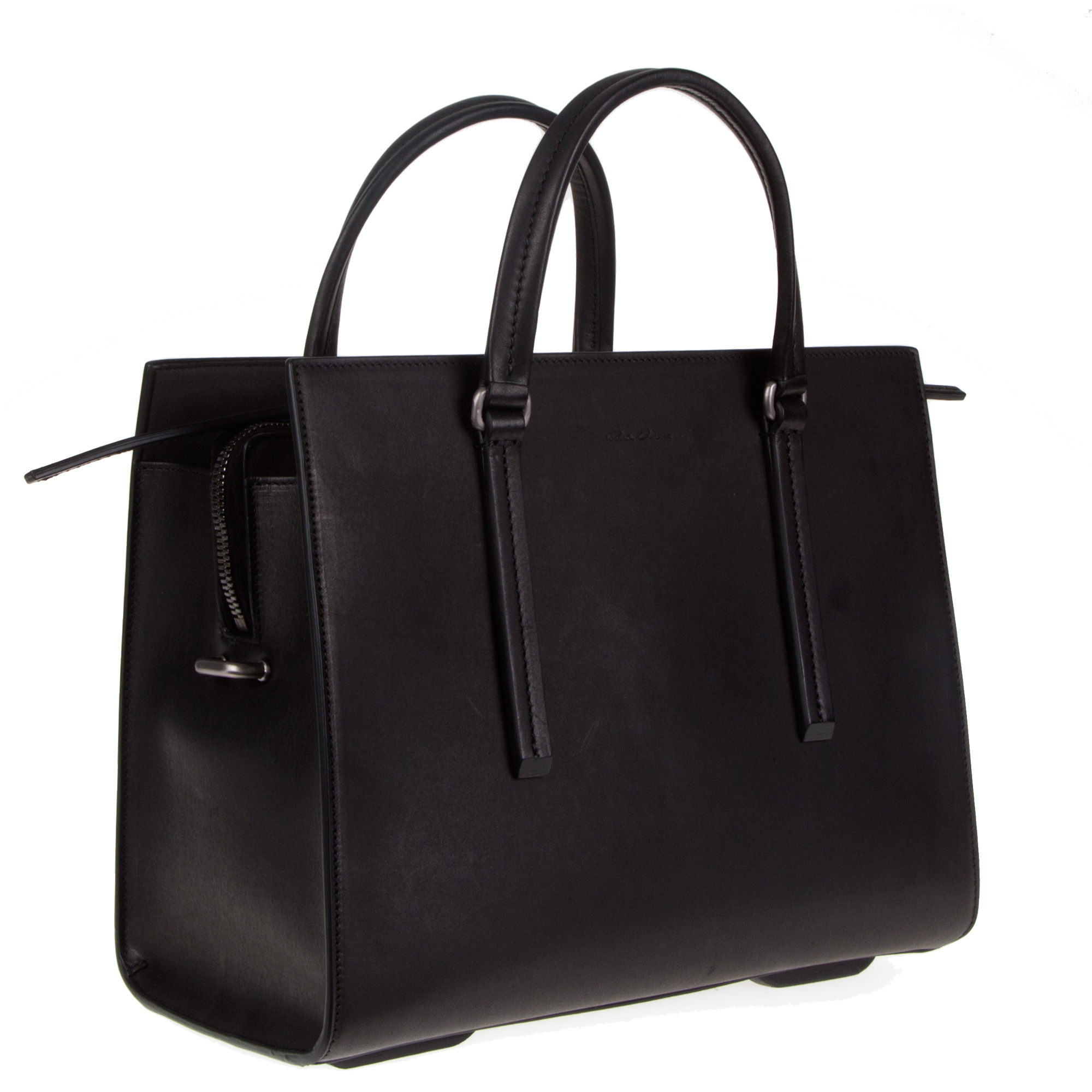 Rick Owens Pre-owned - Leather handbag wswnuHVba7