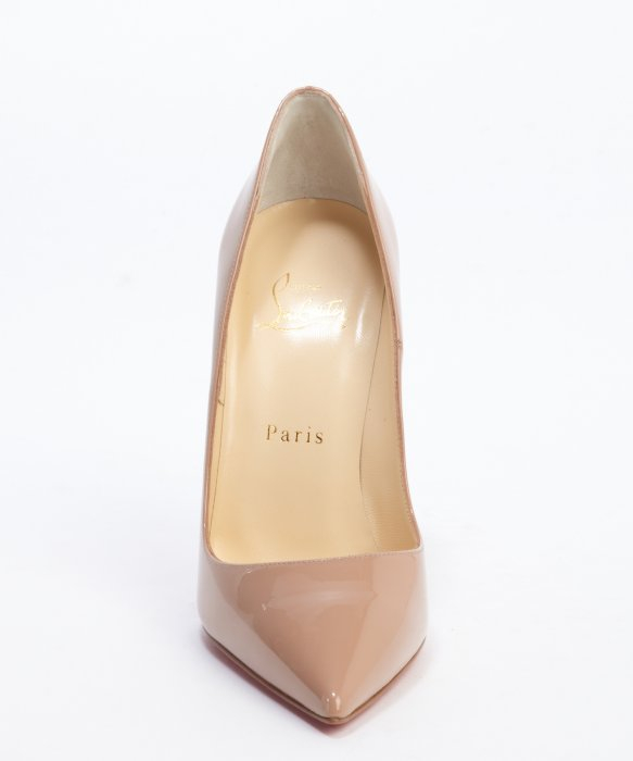 Christian louboutin Nude Patent Leather So Kate 120 Stiletto Pumps ...
