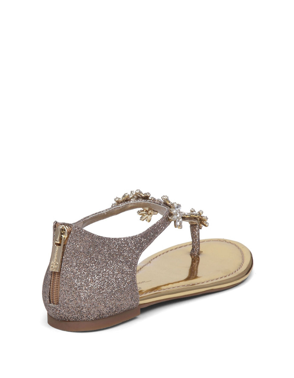 Lyst Jessica Simpson Ryler Jeweled Leather Sandals In
