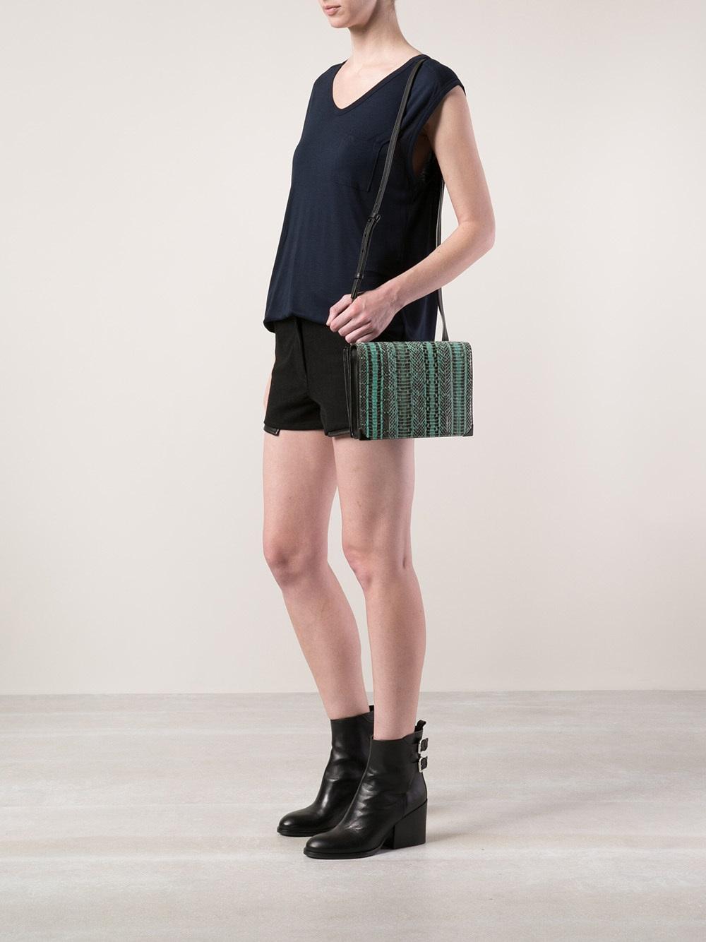 New Styles Prisma crossbody bag - Blue Alexander Wang Cheap Online CiHzQI