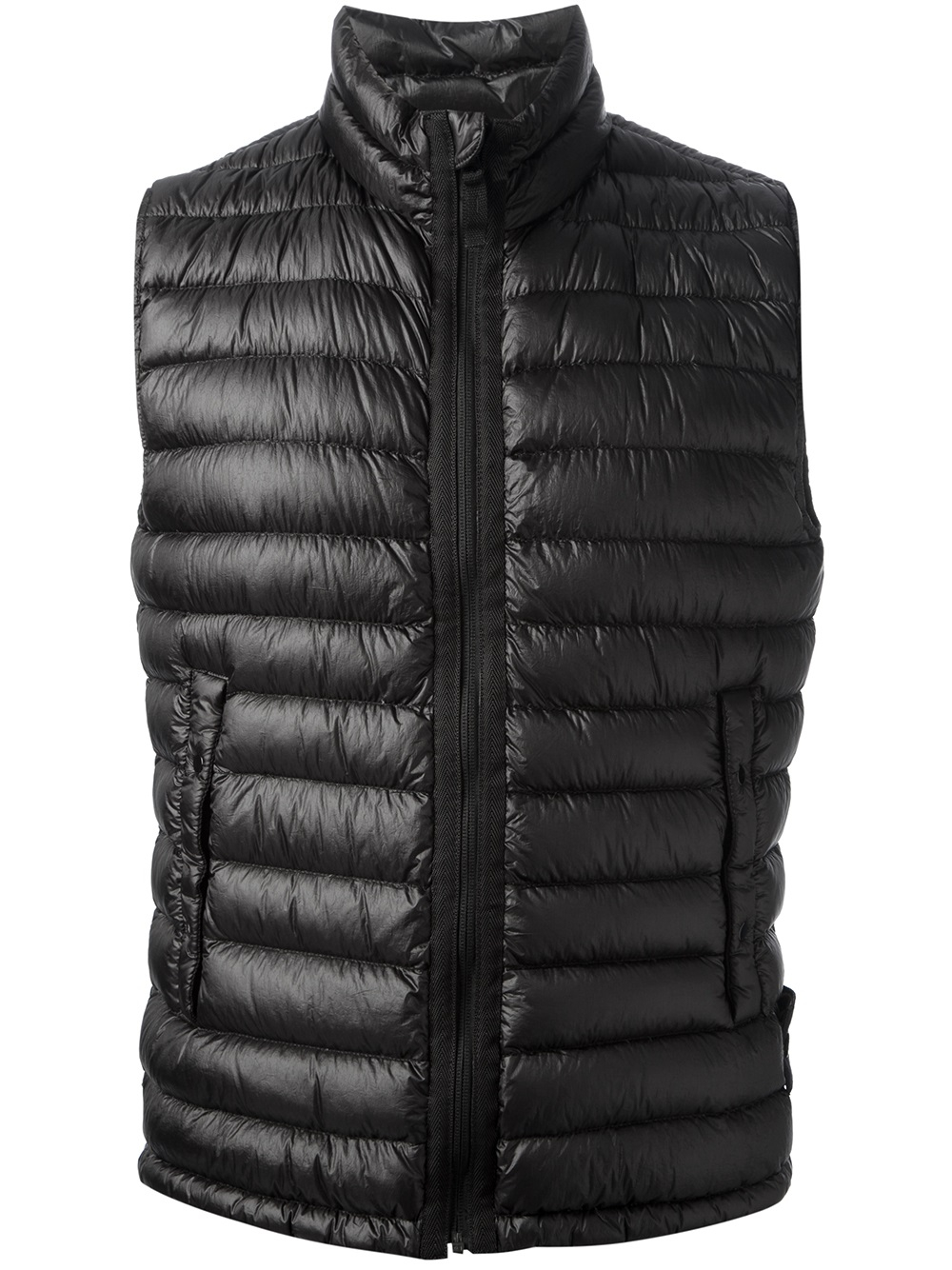 Stone Island Stone Island Padded Gilet In Black For Men Lyst