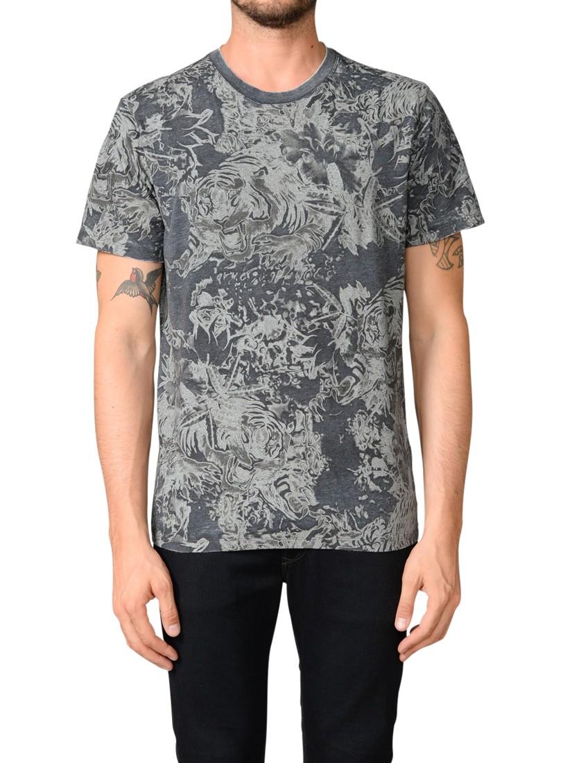 c55f1f7a1 DIESEL T-joe-aj T-shirt in Black for Men - Lyst