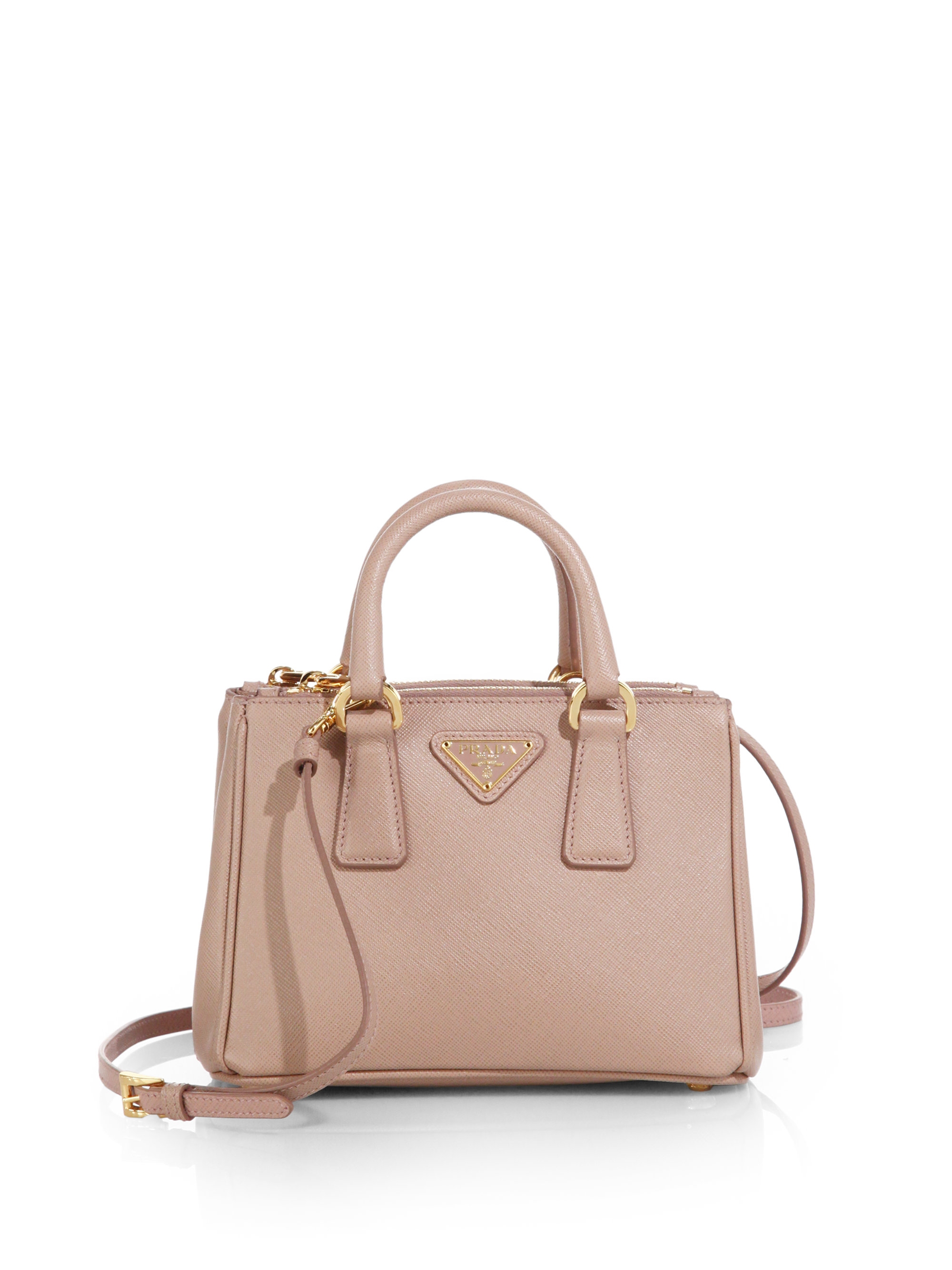 prada saffiano satchel bag