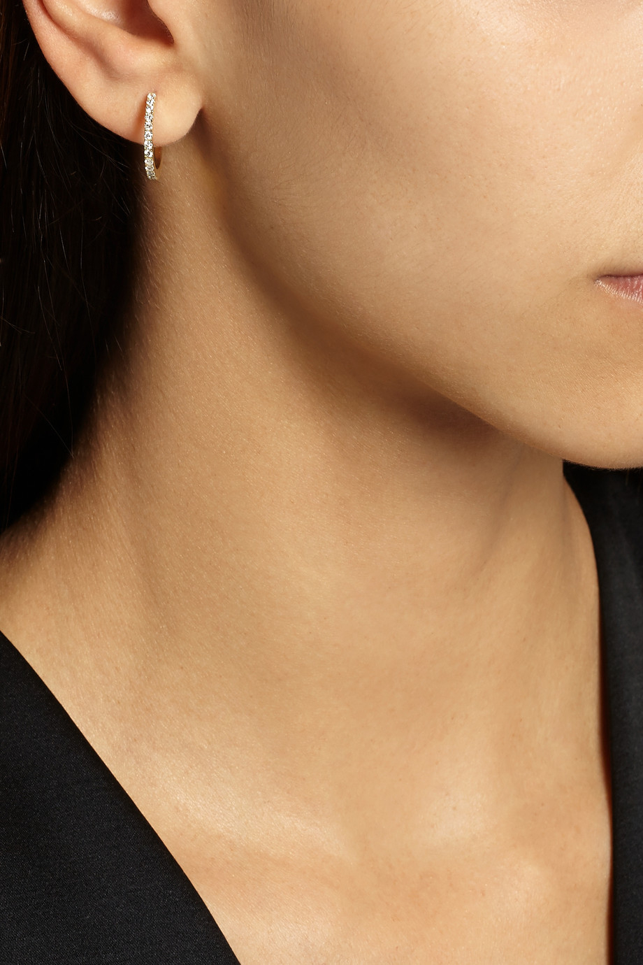 5b5cf94c9e5ad Jennifer Meyer Hoop Earrings - The Best Produck Of Earring