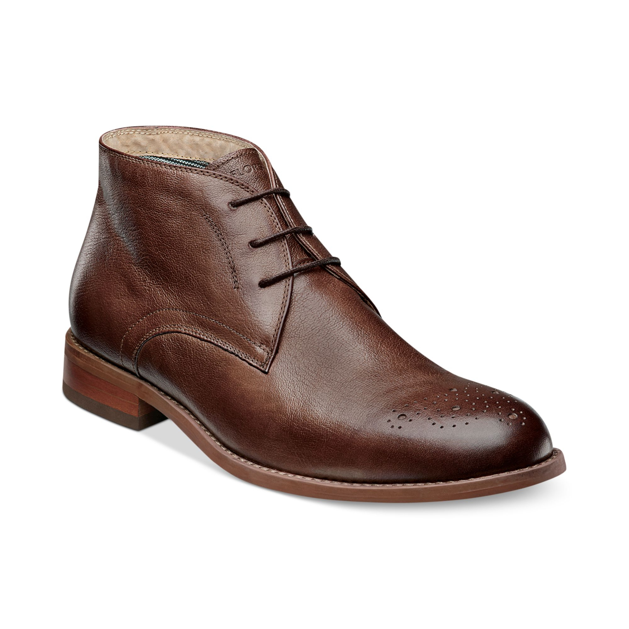 florsheim rockit chukka boots in brown for lyst