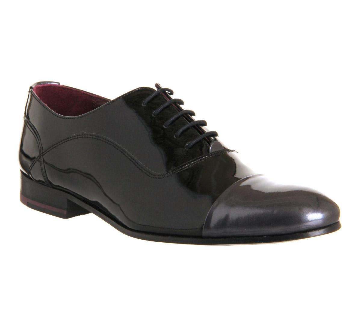 High Shine Toe Cap Shoe