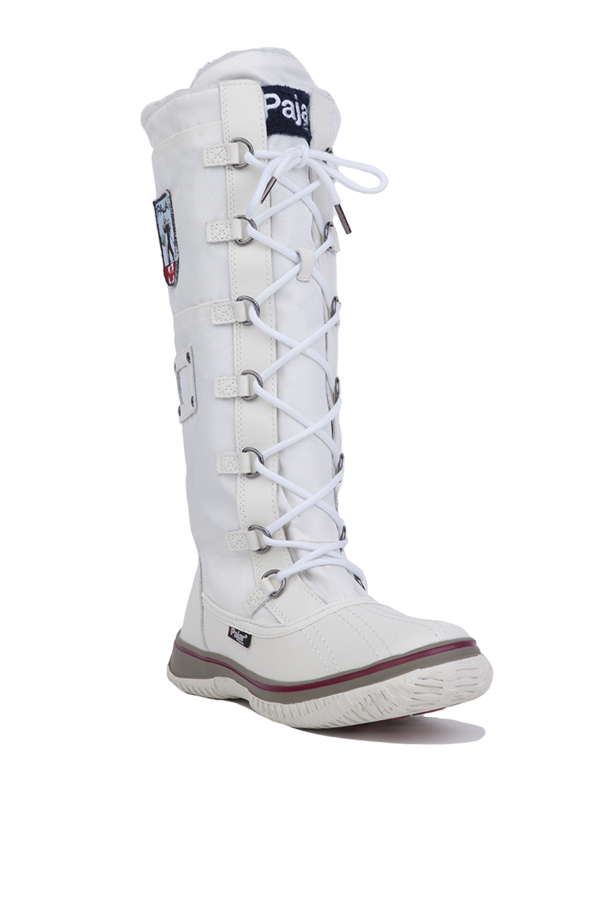 Lyst Pajar Grip Zip Tall Winter Boots White In White