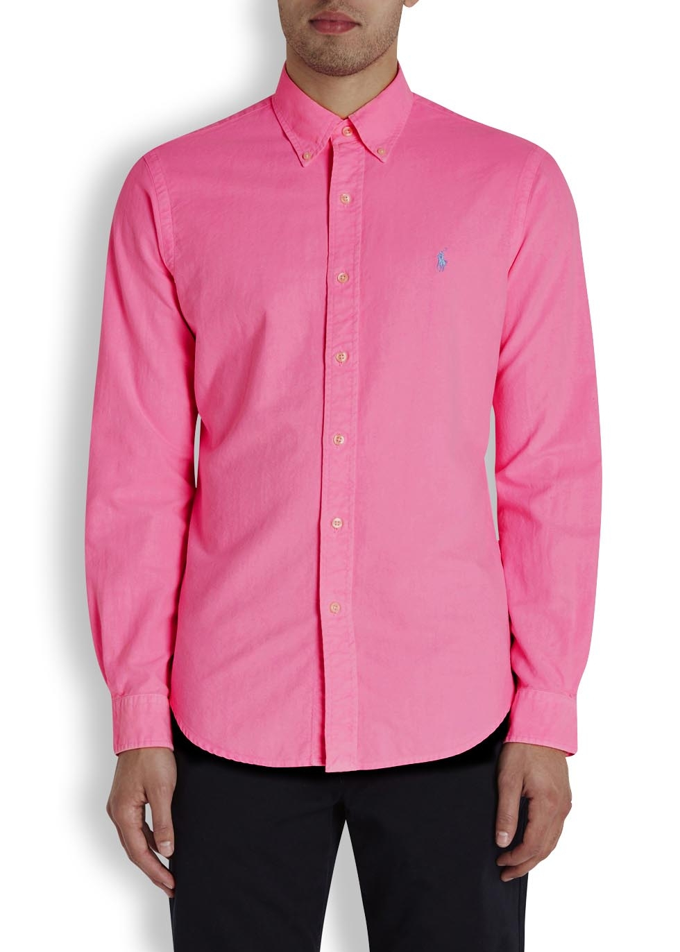 Pink Cotton Shirt | Is Shirt