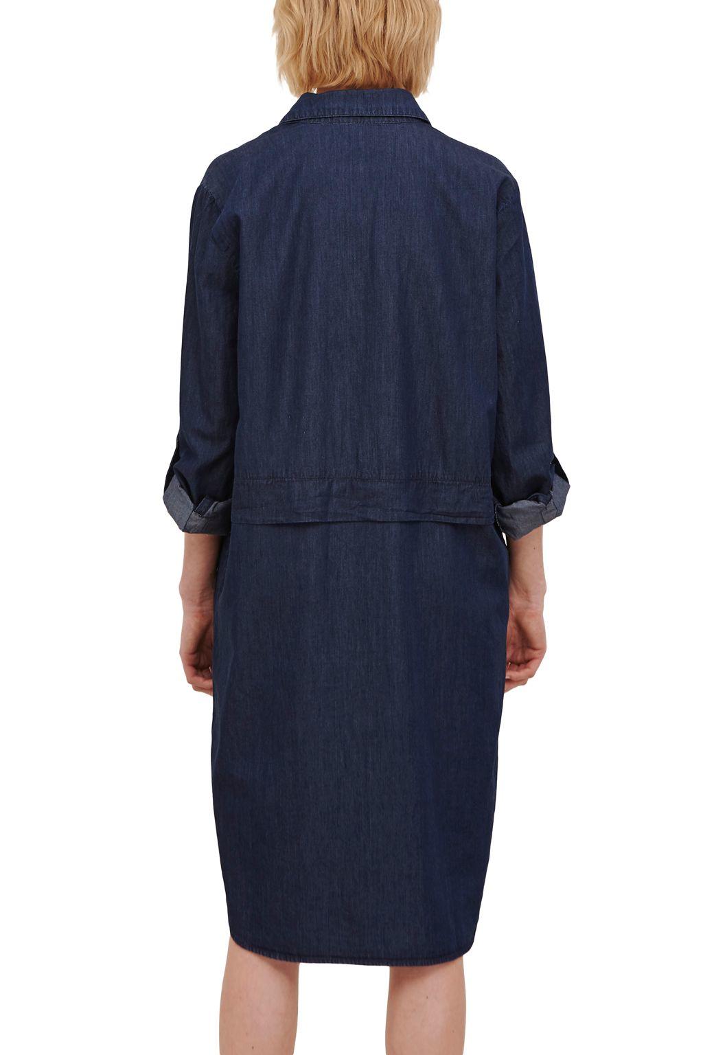 Great plains lightweight denim shirt dress in blue lyst for Ladies light denim shirt