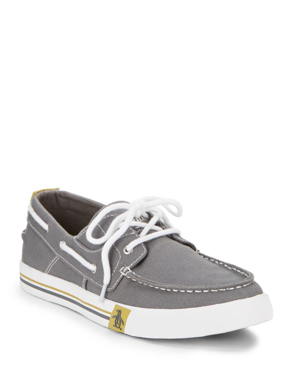 Chaussures Bateau Pingouin Originaux En Blanc - Blanc GQiAe3j