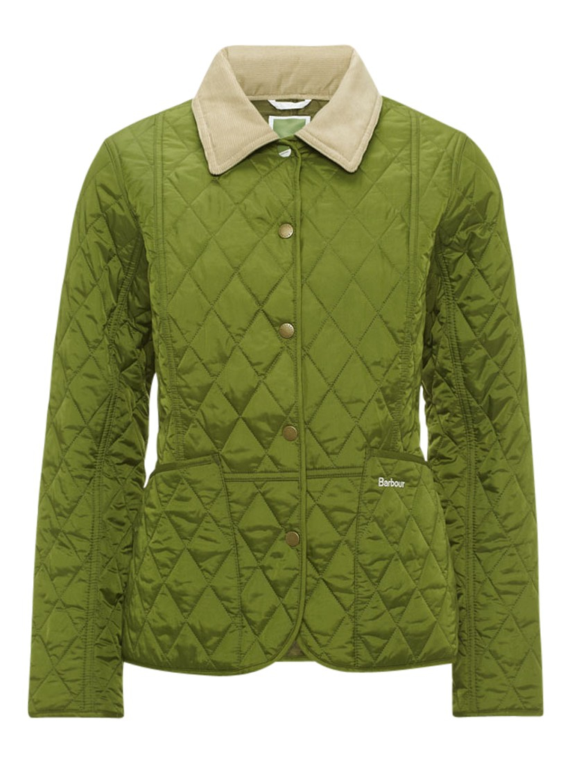 1b5b0529ade Barbour Pantone Prism Quilted Liddesdale Jacket in Green - Lyst