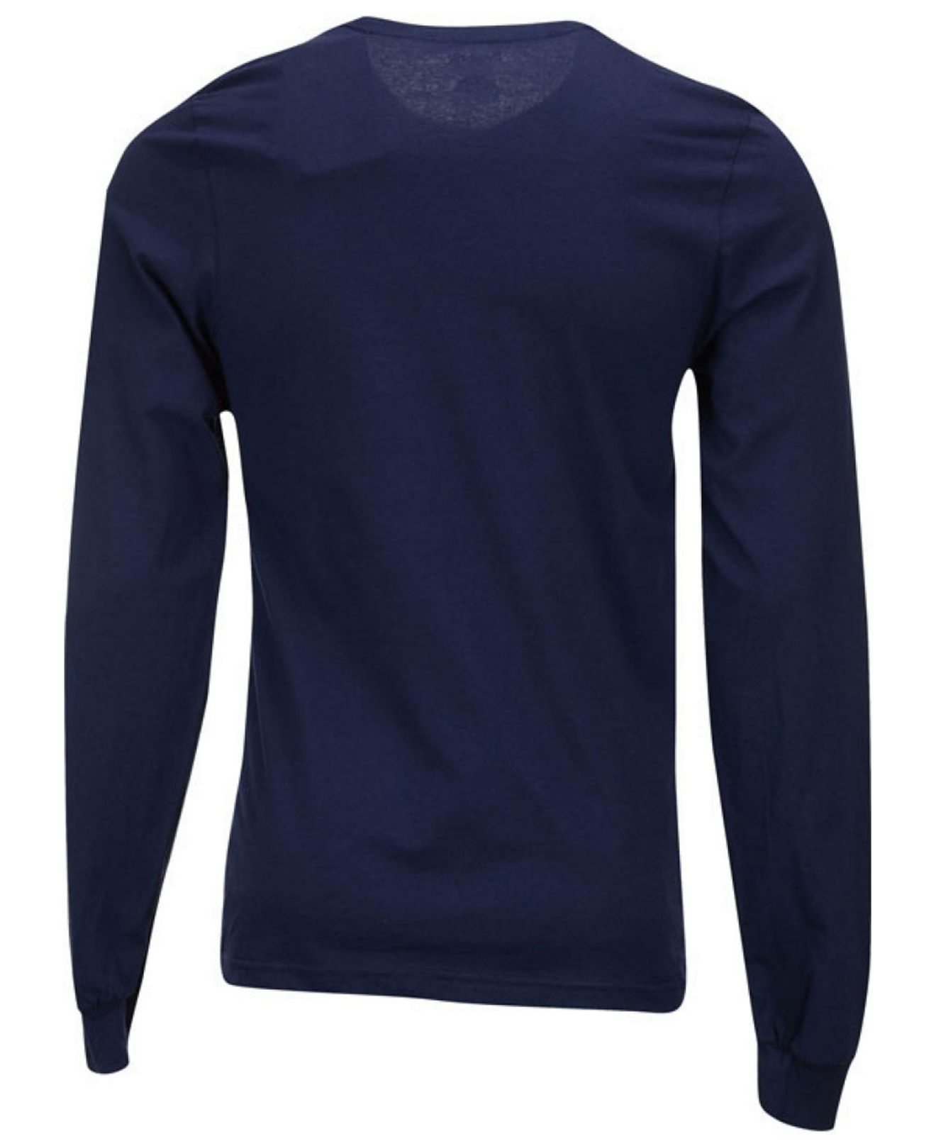 Navy Blue Long Sleeve T Shirt Mens