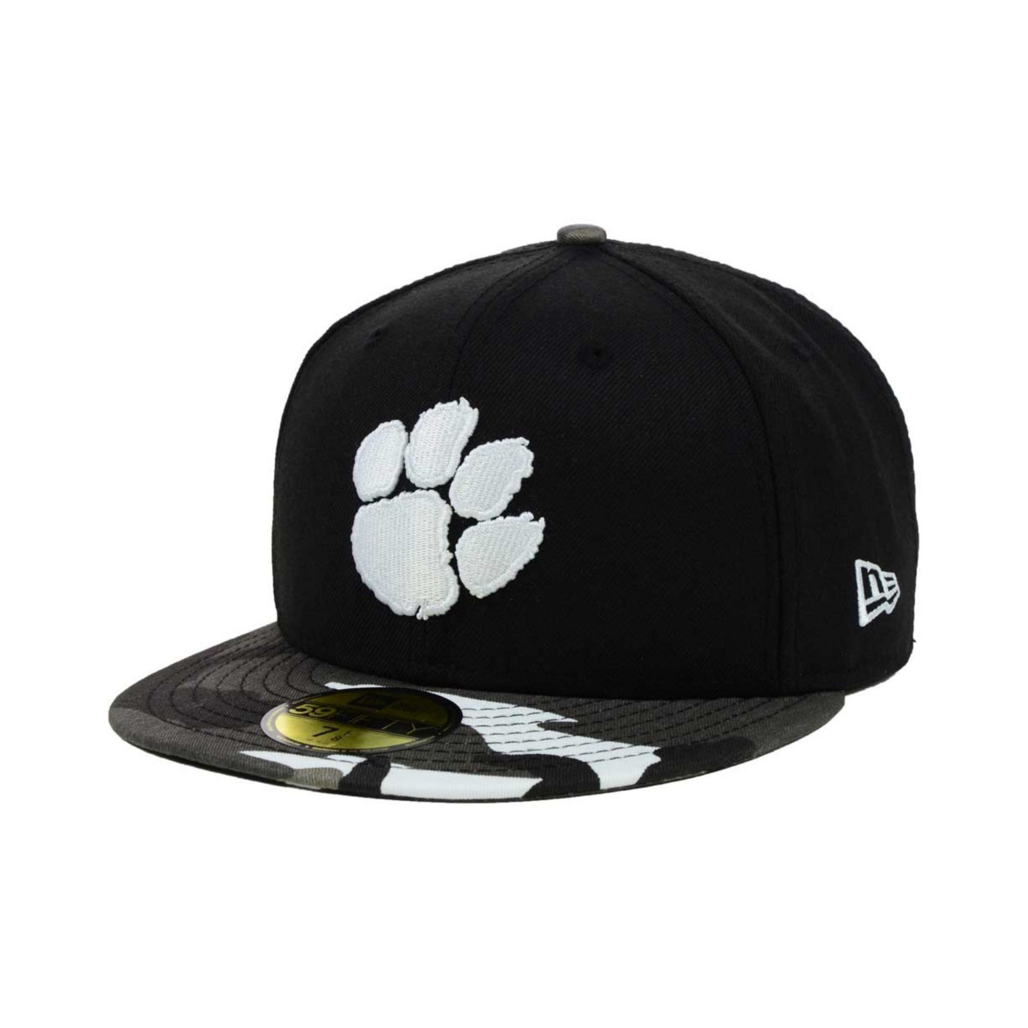 best service 65ab9 fd04f ... shopping lyst ktz clemson tigers urban camo 59fifty cap in black for  men d6301 70e16