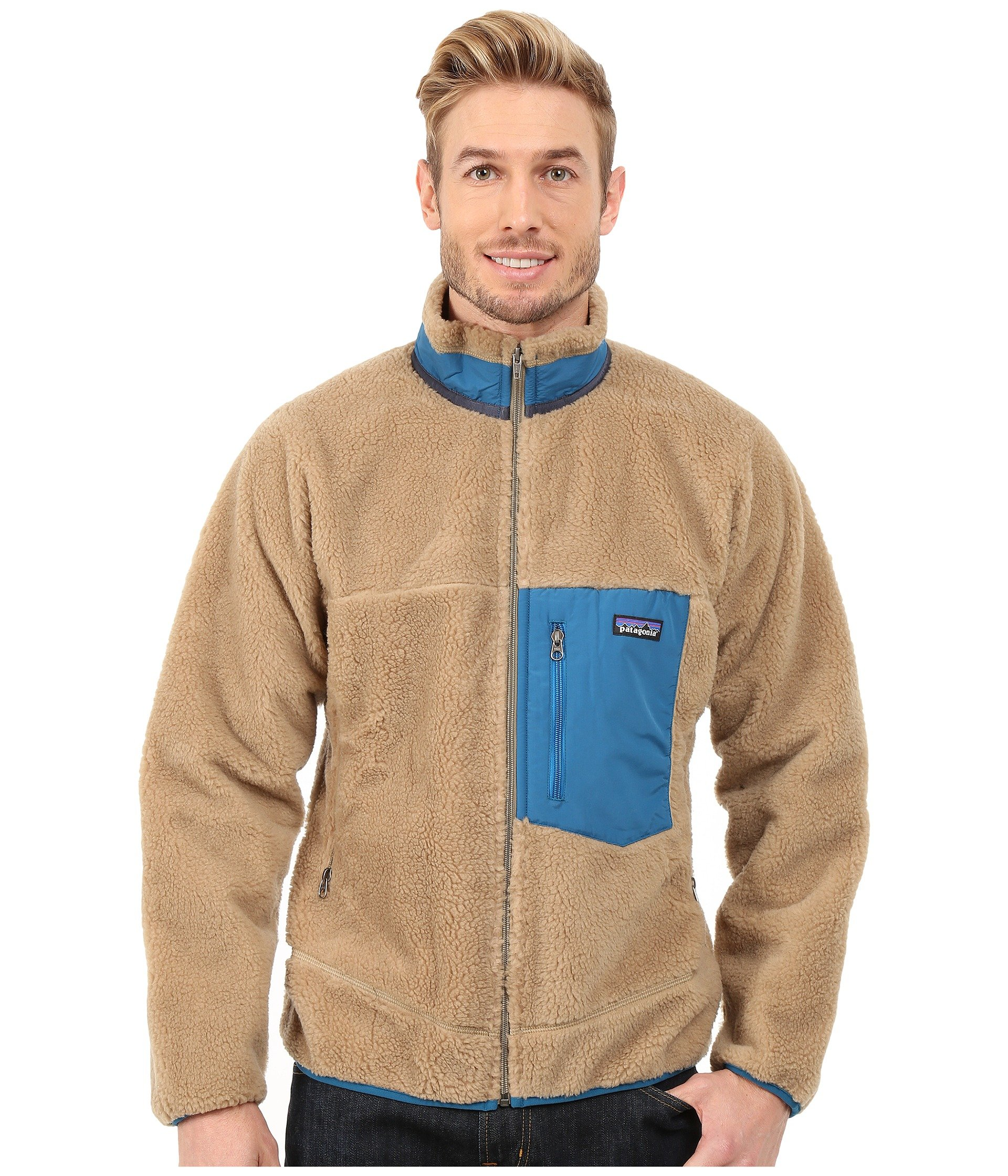 Patagonia Classic Retro-x Jacket In Natural For Men