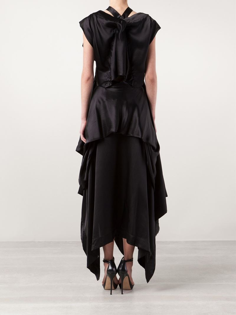 Lyst Vivienne Westwood Azul Dress In Black