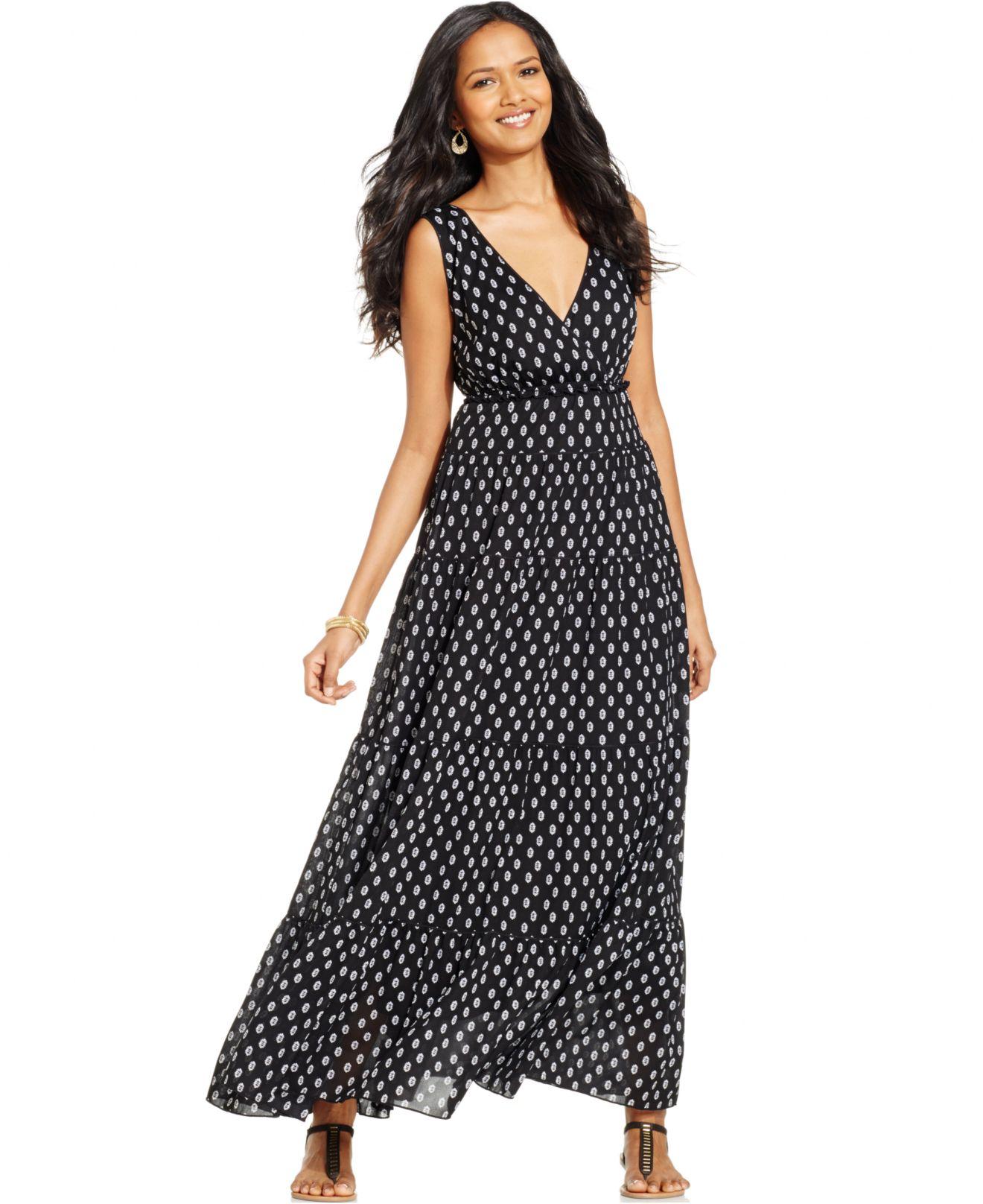 style a maxi dress empire