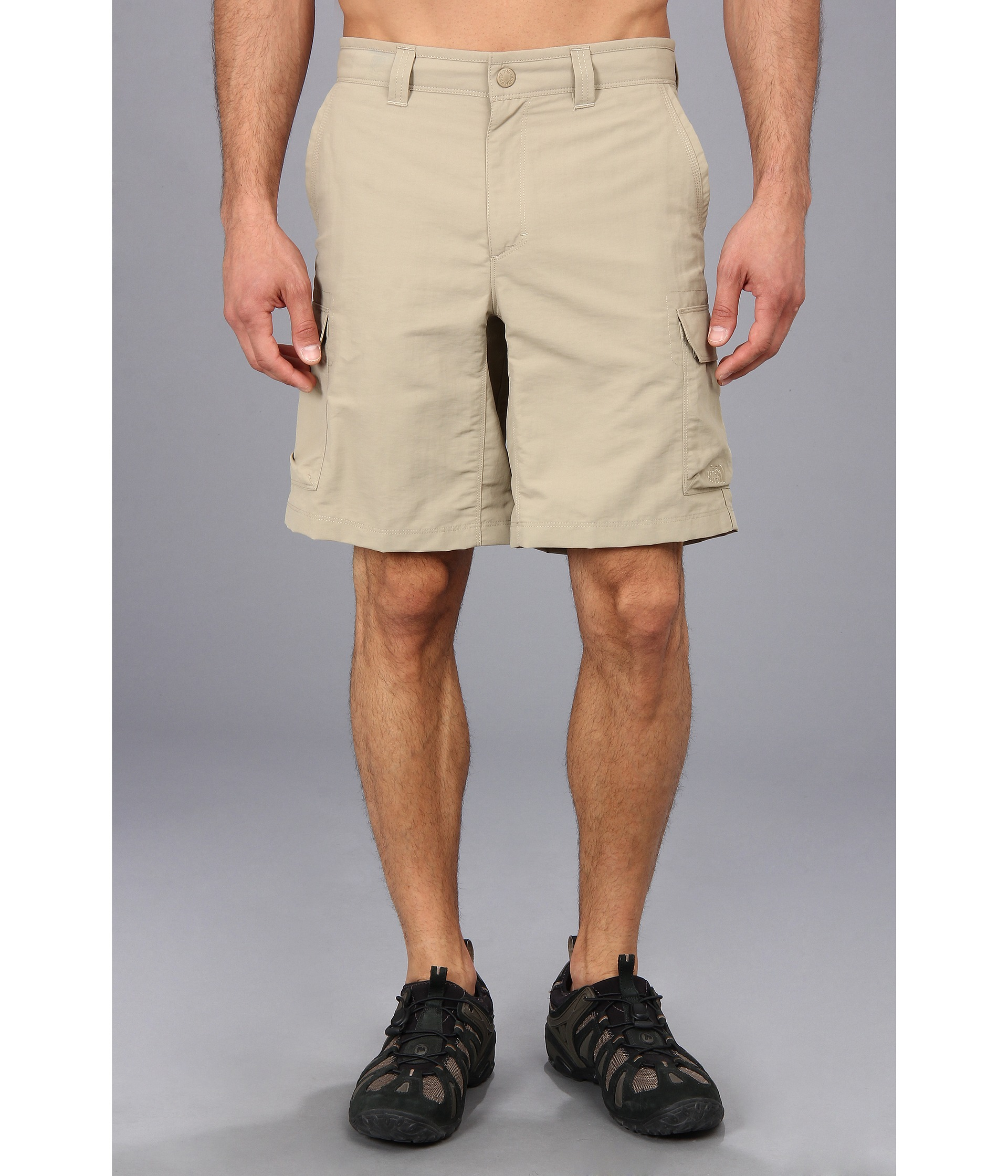 Lyst the north face paramount ii cargo short in natural for men gallery malvernweather Gallery