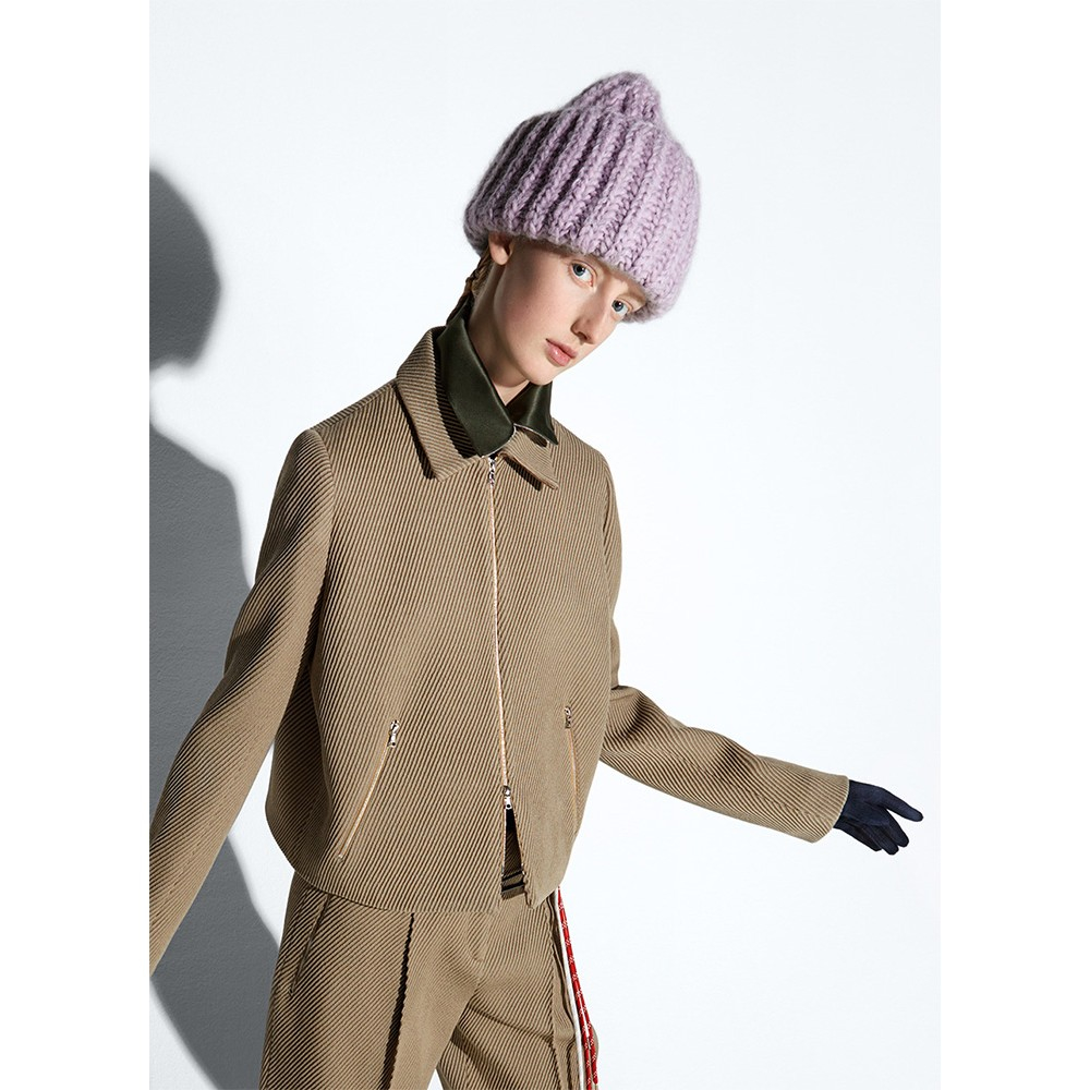 Lyst - Acne Studios Wool And Mohair-blend Hat in Purple ffb7f2b0975